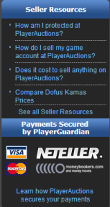 Pro account selling services created by player themselves